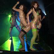 Hot Asian Slut Baby Oil Trance Dance Rave Orgy Video