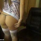 Blueyecass Cute Blue Dress White Fishnets Camshow Video