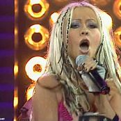 Christina Aguilera Dirrty Live En Punto 2007 Video