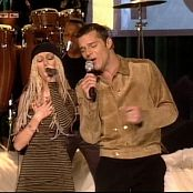 Christina Aguilera Nobody Wants To Be Lonely Live TOTP Video