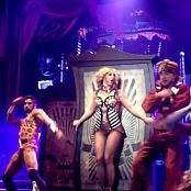 Britney Spears I Wanna Go Live Piece Of Me Tour HD Video