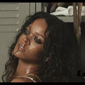 Rihanna Sexy In Oil Esquire Photoshoot HD Video