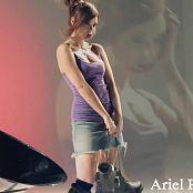 Ariel Rebel Roller Blades Babe Photoshoot HD Video