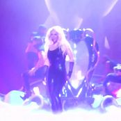 Britney Spears Live Performance In Black Latex Catsuit HD Video