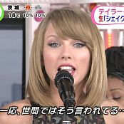 Taylor Swift Shake It Off Live Sukkiri 2014 HD Video