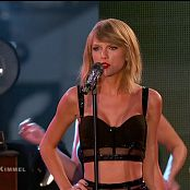 Taylor Swift Medley Live Jimmy Kimmel 2014 HD Video