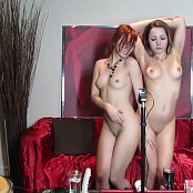 Ariel Rebel With Girlfriend Lesbian Striptease HD Video