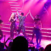Britney Spears Freakshow Las Vegas Black Latex Catsuit HD Video