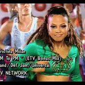 Christina Milian AM To PM Music Video