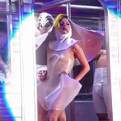 Lady Gaga Very Sexy Plastic See Through Outfit HD Video