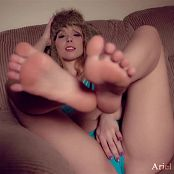Ariel Rebel Luscious Feet HD Video