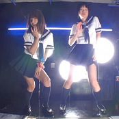 Oiled Up Japanese Schoolgirls Dancing Video