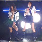 Oiled Up Japanese Schoolgirls Dancing Video