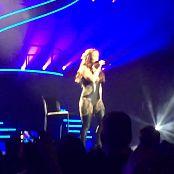 Britney Spears Alien Live Las Vegas In Shiny Outfit HD Video