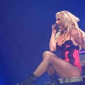 Britney Spears Sexy Lace And Leather Live Femme Fatale HD Video