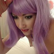 Sarah Peachez Pink Hair And Cumming Camshow Video