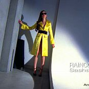 Sasha Grey Yellow Raincoat Tease HD Video