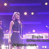 Taylor Swift Shake It Off Live Songs 2014 HD Video