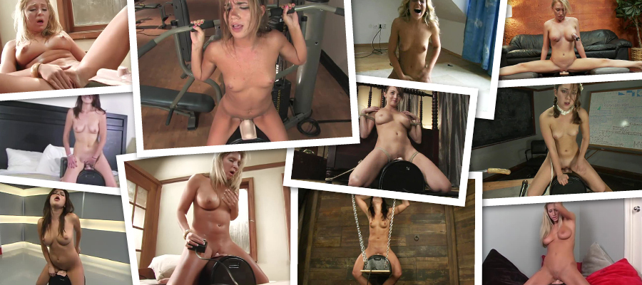 Various Girls Riding The Sybian Vibrator HD Videos Megapack