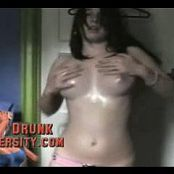 Young Horny Teen Oiled Up Dancing Webcam Video