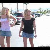 Sarah Peachez And Alison Angel Dare Devils In Public Video