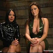 Christina Carter And Julie Night Latex And Waterbondage BDSM Video