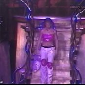 Britney Spears Very Sexy In Shiny Pink Latex Outfit 1999 Intro Video