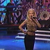 Christina Aguilera Genie In A Bottle Live Jay Leno 1999 Video