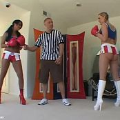 Amber Peach And Eva Angelina Double Dutch Video