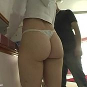 Young Kayla Marie With Her Bubble Butt IWTY BTS Video