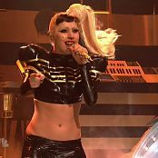 Lady Gaga Born This Way Live SNL Sexy Shiny Latex Outfit HD Video