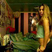 Cute Teenager Strips In Her Bedroom Webcam Video