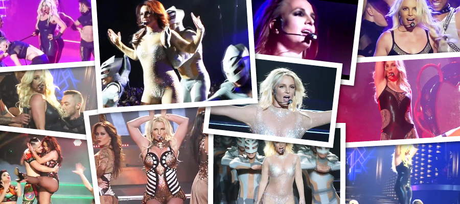 Britney Spears Live From Las Vegas Piece Of Me Tour Megapack