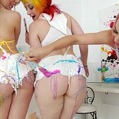 Kristina Rose, Chasity Lynn & Proxy Paige Pretty Sloppy Lesbians HD Video