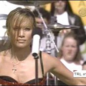 Jennifer Lopez Love Dont Cost A Thing Live TRL Superbowl 2001 Video
