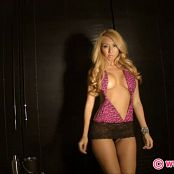 KTso Hot Pink With High Heels Striptease HD Video