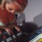 Nikki Sims Playing Zero Wings Arcade HD Video