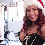 Bianca Beauchamp Hot Christmas Photoshoot HD Video