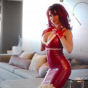 Bianca Beauchamp Las Vegas Red White Latex HD Video