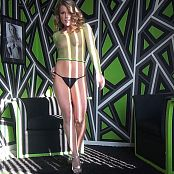Meet Madden See Through Green Fishnet Striptease Zipset HD Video