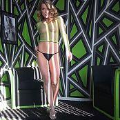 Meet Madden See Through Green Fishnet Striptease Zipset HD Video