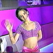 Alizee In Pink Outfit Waving Clip Video