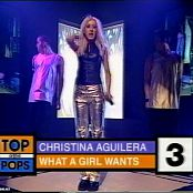 Christina Aguilera What A Girl Needs Live TOTP 2000 Video