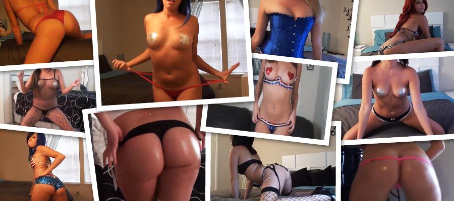 Kalee Carroll AKA Sexxiebebe23 Twerking Videos Complete Siterip