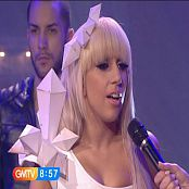 Lady Gaga Just Dance Live GMTV 2009 Video