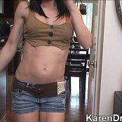 Karendreams Sexy Cowgirl Strip HD Video