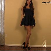 Brittany Marie Simply Irresistible Legs HD Video