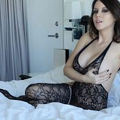 Bryci Body Stocking Solo Masturbation 4K UHD Video