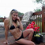 Madden Black Bikini Picture Set
