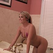 Sherri Chanel Pink Shiny Bikini Shoot HD Video